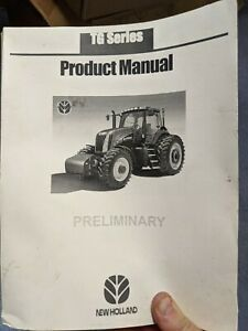 NEW HOLLAND TG SERIES PRODUCT MANUAL