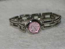 Fossil F2 Stainless Steel Women's Watch Es-8994 Pink Dial