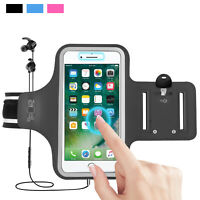 Fingerprint Unlock Armband Bag Arm Band Holder For iPhone XS Max/XR/X/6/7/8 Plus