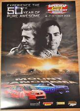 2012 50th Supercheap Auto Bathurst 1000 V8 Supercar Poster
