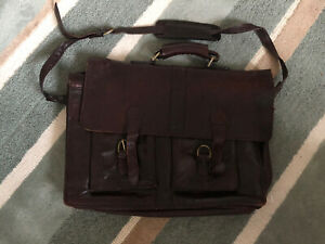 Big Leather Briefcase