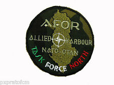 Patch Toppa Militare Missione AFOR Albania Operazione Allied Harbour 1999 Velcro