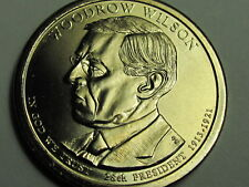 2013-P Woodrow Wilson $1 Presidential Golden Dollar Coin-Very Low Mintage