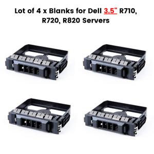 Lot of 4 x Dell 3.5inch Hard Disk Blank Filler (0NPTFH) for PowerEdge Servers