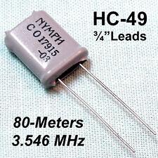 3.546 Mhz Crystal Hc-49 (80-Meter Ham Band)