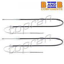VW GOLF MK1 CABRIOLET SCIROCCO MK1 HAND BRAKE CABLE x 2 A194