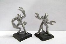 Fuera de imprenta ciudadela/Demonios Caos de Warhammer de metal 1st edición Daemonettes de Slaanesh