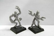 OOP Citadel / Warhammer Metal 1st Edition Chaos Daemons Daemonettes Of Slaanesh
