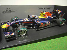 F1 RED BULL 2010 VETTEL RACING RENAULT RB6 au 1/18 MINICHAMPS voiture 110100105