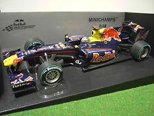 Minichamps 1/18 Redbull Course Rb6 Sebastian Vettel Abu Dhabi GP 2010 World WC