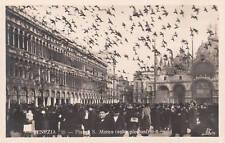 * VENEZIA - Piazza San Marco con volo piccioni