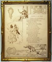 Benjamin Rabier 1906 2 Illustrations Fable Of the Fountain L'Homme & Sound Image
