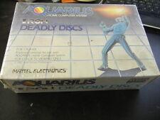 NOS Brand New Mattel Aquarius Tron Deadly Discs Game Cartridge