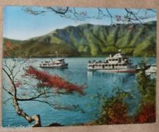 Kojiri Pier & Boats Japan 1960s Boating Scene Old Boats Real Photo postcard See!