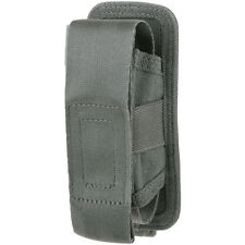 Maxpedition AGR Single Sheath Pouch Hex Ripstop Nylon Tool Torch Carrier Grey