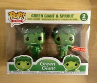 Funko POP! Ad Icons Metallic Green Giant and Sprout 2-PK, Target Exclusive