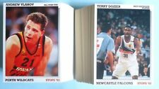 Not Autographed Basketball Trading Cards Set 1992-93 Season