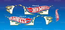 Hot wheels 1/64 Water Slide Decals Nissan Datsun 510 Wagon Flames V1 052