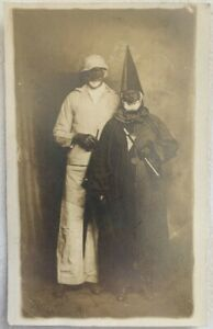 RARE USA / BLACK AMERICANA Vaudeville REAL PHOTO Postcard RPPC Unused