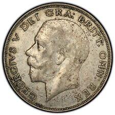 1925 Great Britain 1/2 Crown ~  PCGS Graded AU53 ~ Key Date