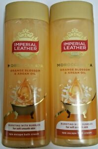 2 x Imperial Leather  Moroccan Spa bath cream 500 ml
