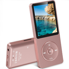 AGPTEK A02 8GB MP3 Player with FM Radio, Voice Recorder, 70 Hours Playback