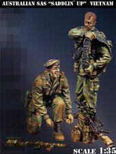 1:35 resin figure model Vietnam war Australian special soldiers R1582 garage kit