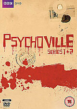 PSYCHOVILLE COMPLETE SERIES 1 - 2 DVD BOX SET ALL EPISODES 1st 2nd SEASONS New