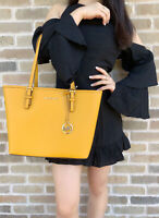 Michael Kors Jet Set Medium Carryall Tote Marigold Yellow