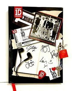 One Direction Notebook Diary Lock Black White 1D Harry Styles Zayn Malik Liam