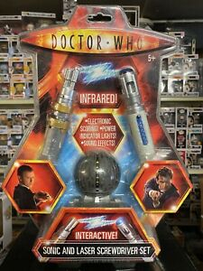 10th Doctor Who Sonic Screwdriver Masters Laser Screwdriver Infared Tag Game