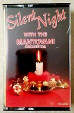 SILENT NIGHT with the MANTOVANI ORCHESTRA: INSTRUMENTAL HOLIDAY MUSIC! RARE/OOP!