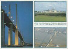The Queen Elizabeth II Bridge - Unused Postcard