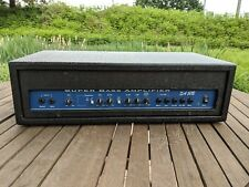 VINTAGE SA 50B SUPER BASS AMPLIFIER HEAD IN NEW CASE - EXCELLENT CONDITION