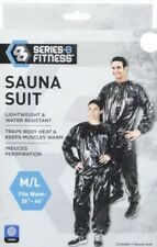 Heavy Duty Sweat Suit Sauna Exercise Gym Fitness Weight Loss AntiRip Size Med/Lg