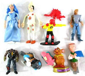 Lot of 10 Disney Plastic Figures Toys Miscellaneous McDonalds
