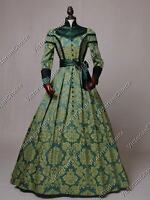 Victorian Regal Queen Game of Thrones Dress Ball Gown Theater Reenactment C021