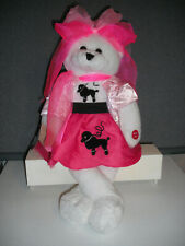 "Chantilly Lane Musical Bear 22"" OLIVIA Sings ""You're the One that I Want"" Grease"