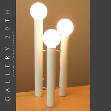 RARE! MID CENTURY MODERN TONY PAUL TOWER LAMP! Vtg Eames White 60's Atomic Table