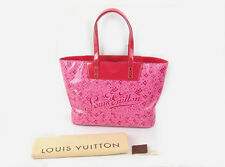 Mint Louis Vuitton Articles de Voyage Rose red Cosmic Blossom Tote bag