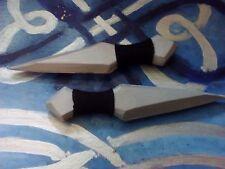 Larp/Prop Puñales/cuchillos de lanzamiento: conjunto de 2