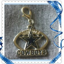 NFL ❤️ Dallas Cowboys ❤️ Zipper Pull Charm with Lobster Clasp /Brand New