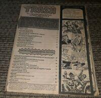 Trash Magazine VOLUME 1 ISSUE 4 OCTOBER 1978  Humor MAGAZINE no cover VINTAGE!