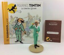 Collection officielle figurine Tintin Moulinsart 17 Le professeur Tournesol