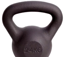 24 KG BRAND NEW BOXED CAST IRON KETTLE BELL