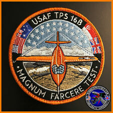 Air Force Test Pilot School Class 16B Patch, X-1 Commemorative, Edwards AFB TPS