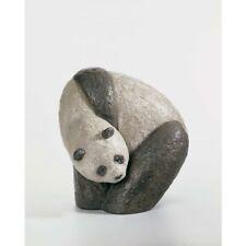 Lladro Panda 3 (Gres Finish) - Retired in 2010 - Item #01012462
