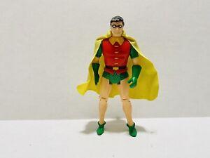 Vintage 1984 Kenner Super Powers Robin Action Figure Original Cape DC Comics