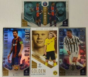 Topps - UEFA Champions League 2020/21 Best of the Best Card SINGLES