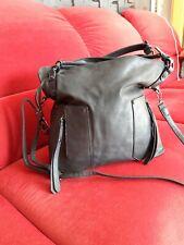Damen Umhängetasche Handtasche schwarz, groß